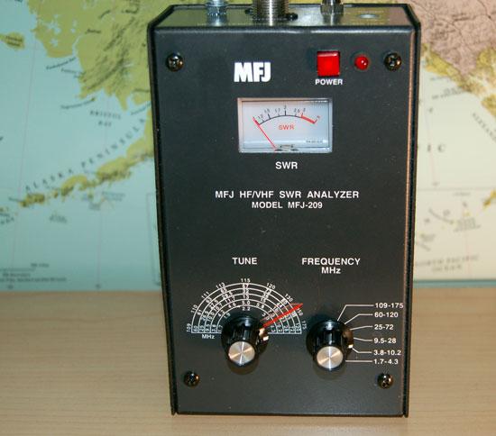 Product Review – The MFJ-209 Antenna Analyzer | https://frrl