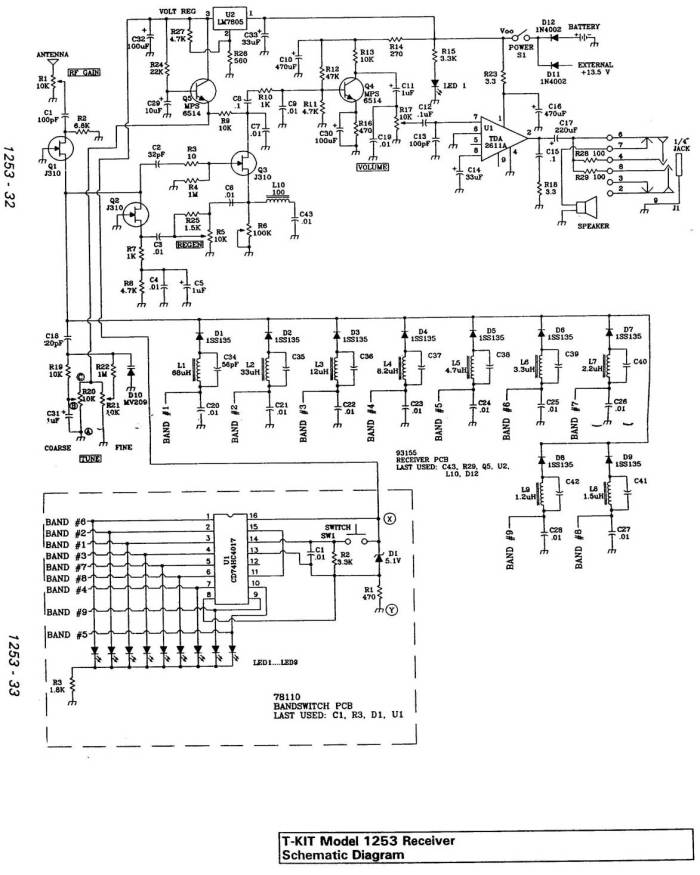 tentec1253 schematic