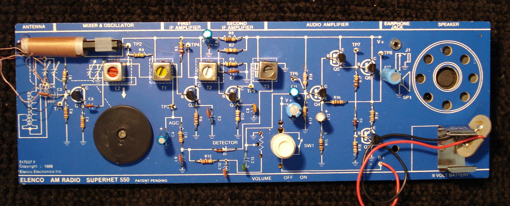 Radio receiver besides Long Live The All American Five Or Recovering A Piece Of Radio History additionally Am Mod as well 2n6084 144mhz Fm Power  lifier moreover Lm358 Datasheet. on fm radio schematic