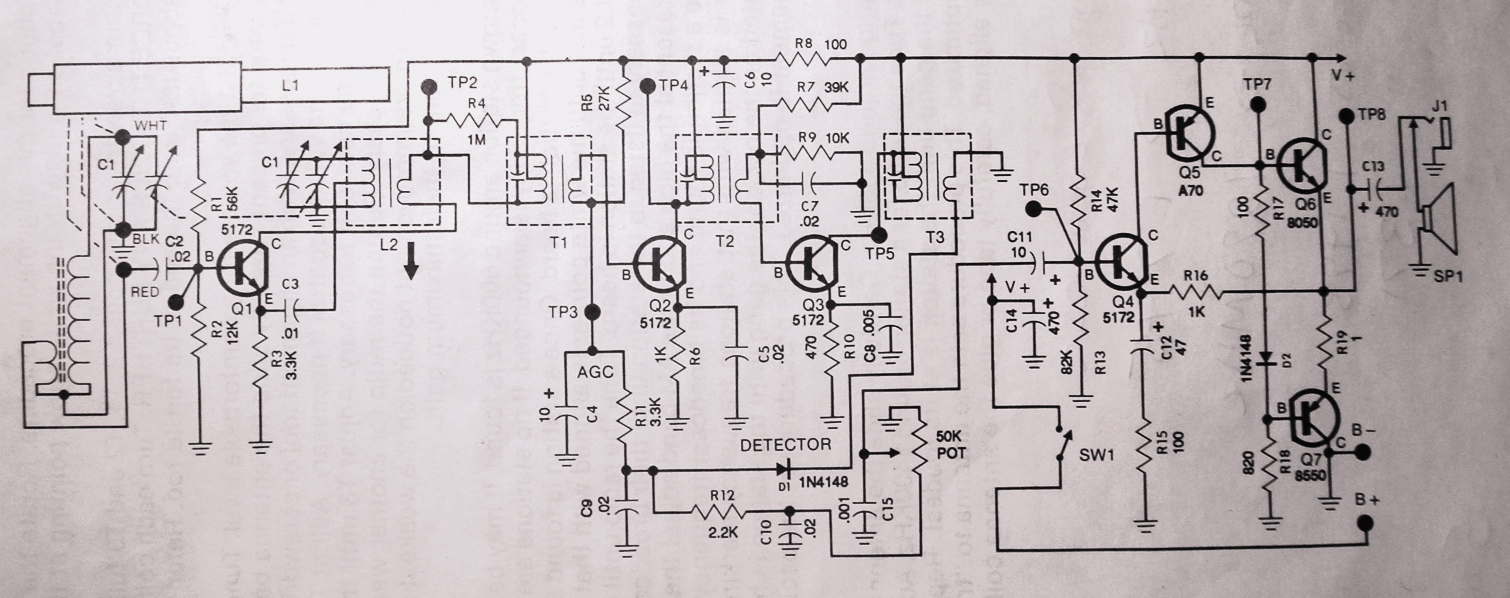 am fm radio schematic diagram diagram radio circuit diagram the wiring