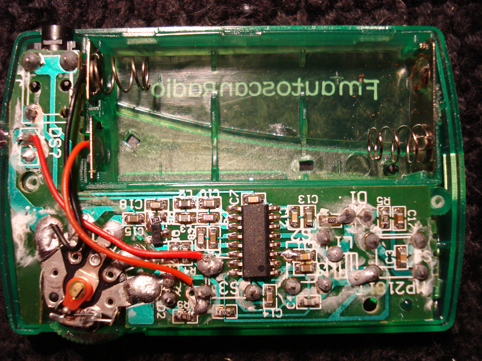 A Fm Radio For One Dollar How Is This Possible Https Frrl Chip Am Receiver Disassemble