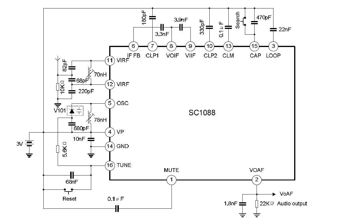 A Fm Radio For One Dollar How Is This Possible Https Frrl Crystal Wiring Diagrams Sc1088application