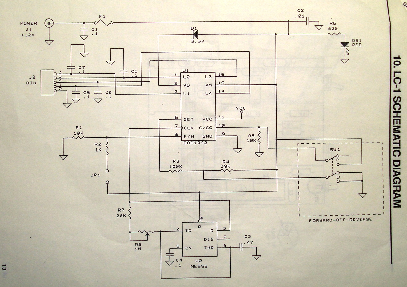 Ic 555 Circuit Diagram Stepper Motor Control Using Get To Know Your And The Saa1042 Driver