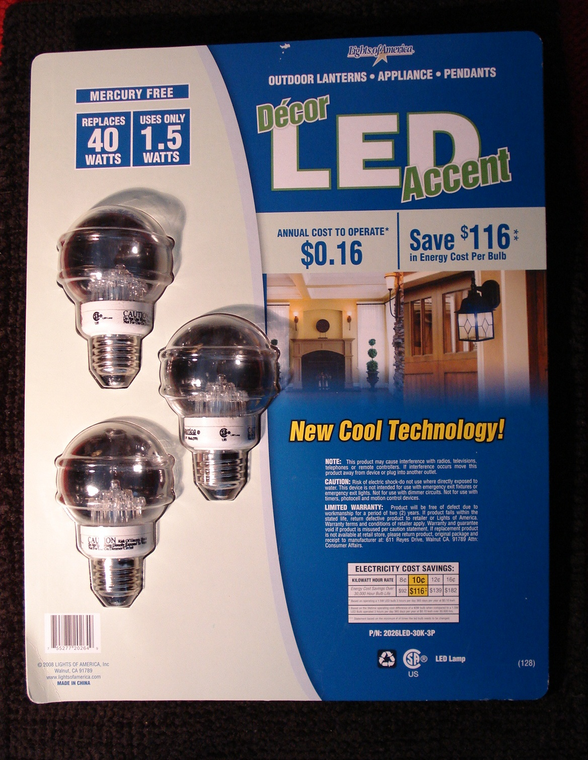 Product Review Lights Of America Led Light Bulb