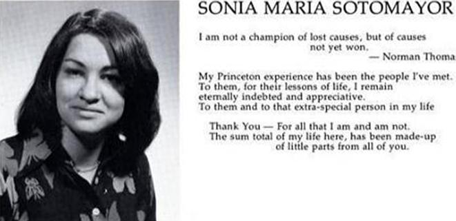 sotomayor princeton thesis