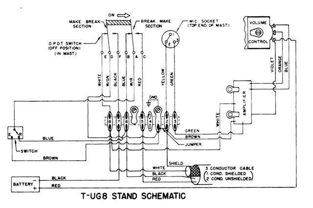 d104_3wireschematic_tug8?w=640 a 1960's astatic d 104 mic in the 21'st century a real baby 4 pin cb mic wiring diagram at n-0.co