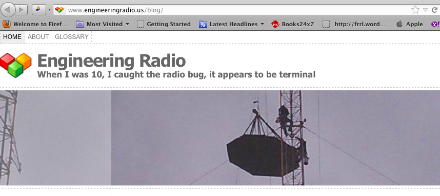 For those interested the technical aspects of Radio… and the really big