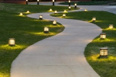 Image result for lights at end of driveway
